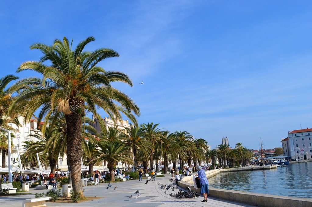 coast split croatia